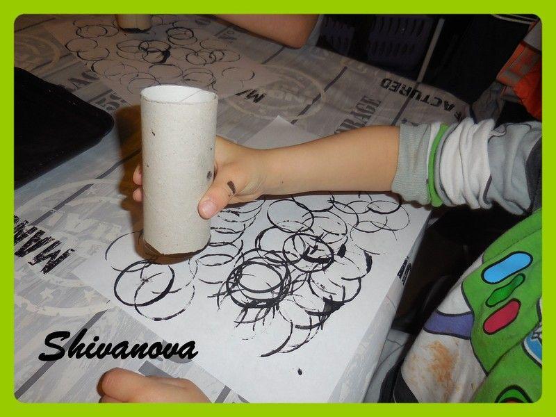 papillons avec rouleau de papier toilette centerblog. Black Bedroom Furniture Sets. Home Design Ideas