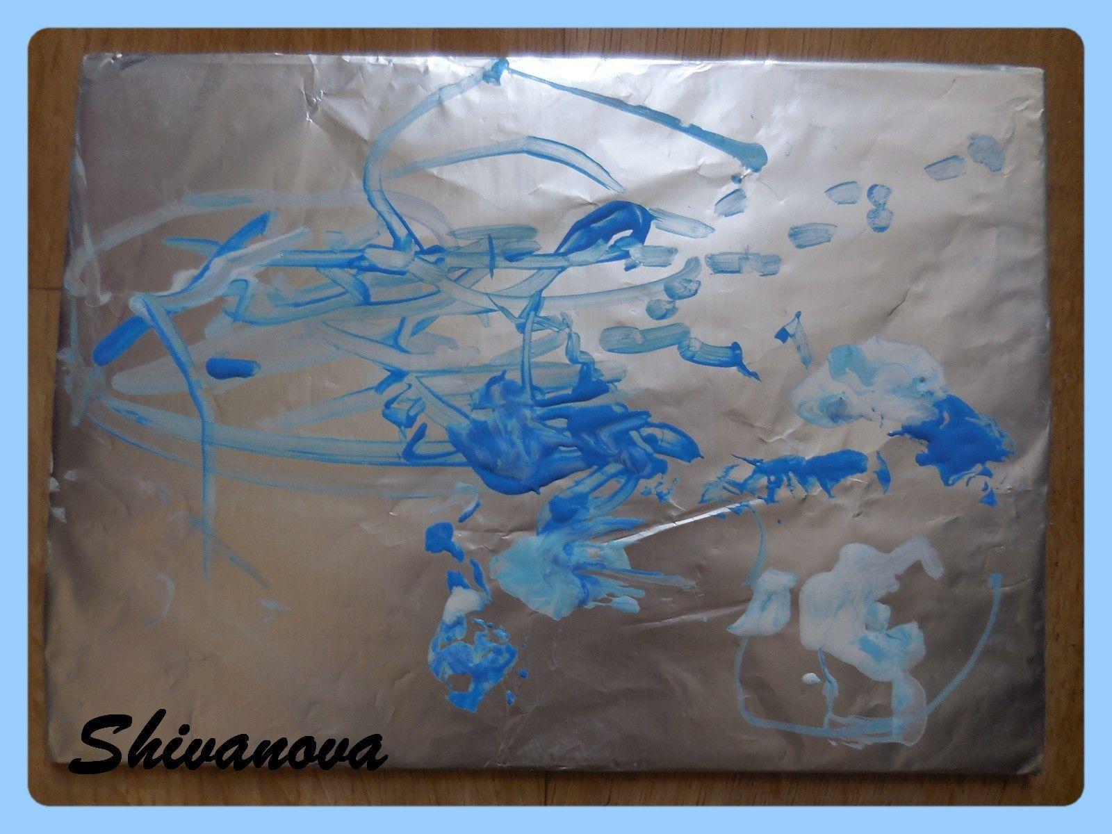 Peindre sur du papier allu for Peindre sur du melamine